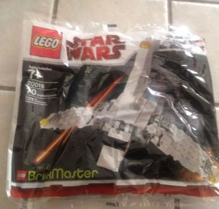 Lego Star Wars Imperial Shuttle Brickmaster Set 20016