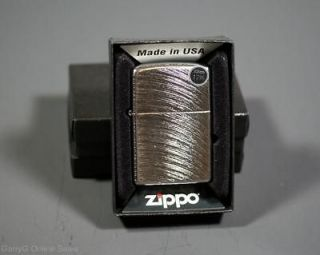 Zippo Chrome ARCH cigarette lighter Low cost shipping Made in the USA