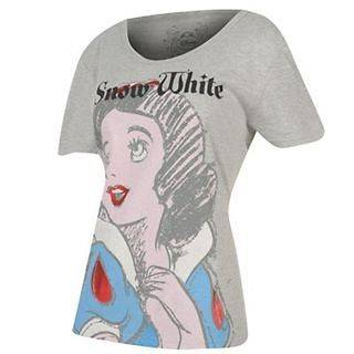 BNWT LADIES CHARACTER DISNEY PRINCESS SNOW WHITE T SHIRT TOP UK 8,10
