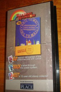 Used Reading Rainbow Episode VHS Hail to Mail