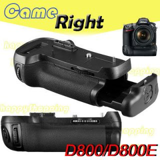 power Battery Grip for Nikon D800/D800E EN EL15 DSLR Camera as MB D12