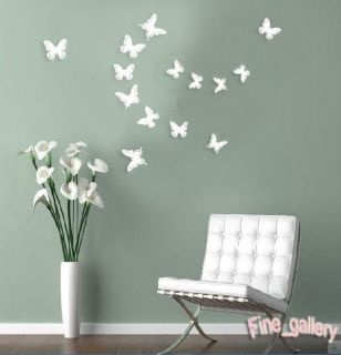 Stereo Butterfly Acrylic Wall Decal Art DIY Home Decor Wall Stickers