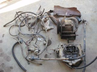 Newly listed 1975 Dodge 318 smog parts and carb, air pump