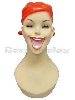 Mannequin Head Bust Vintage Wig Hat Jewelry Display #Y5