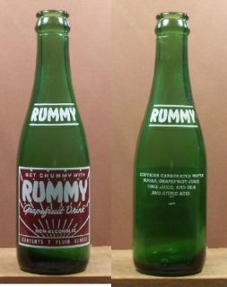 Vintage THE POP SHOPPE Soda Bottle FULL   ROOT BEER   10 oz New York