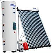 250 Liter 66 Gallon 24 Vacuum Tube Solar Water Heater One Coil Tank