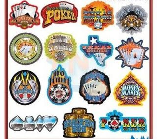 NO LIMIT TEXAS HOLD EM STICKERS DECALS * POKER * GAMBLING * CARDS