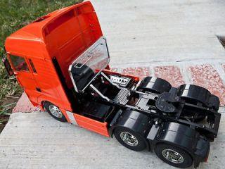 for Tamiya 1/14 Semi Tractor Man TGX XLX rear headache Aluminum Rack