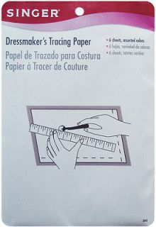 Dressmakers Tracing Paper 6 1/2 Inch X 19 1/2 Inch 6/Pkg