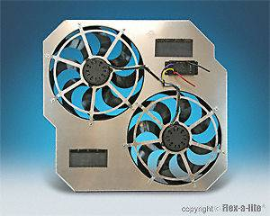 846 Electric Engine Cooling Fan for 2003  2009 Dodge Cummins Diesel
