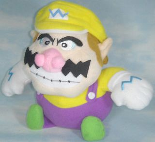 super mario bros wario bb 8 soft plush doll toy cute