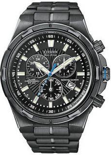 Citizen Mens Eco Drive Perpetual Calendar Chronograph Watch BL5435 58E