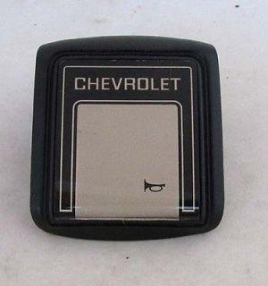 1981 82 1983 Chevy Truck Horn Button OEM Silverado 1984 1985 1986