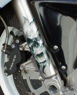 Harley Davidson Sportster Softail Dyna Electra Glide FORK SKULLS