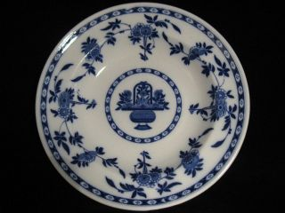 Titanic 2nd Class White Star Line Delft Blue Soup Bowl Mintons