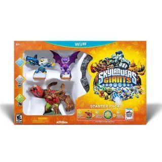 GIANTS STARTER PACK NINTENDO Wii U w/ JET VAC TREE REX & CYNDER