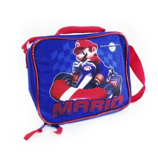 Officially Licensed Nintendo Wii Super Mario Cart Kids Insulated Lunch