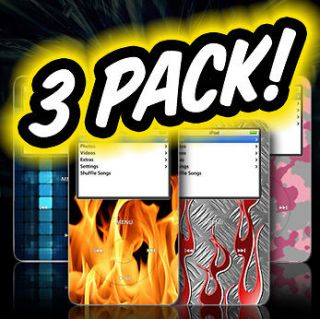 Apple iPod Classic Wrap skin case cover Skins video  Skin protector