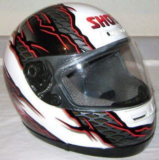 Serie FULL FACE Rare MOTORCYCLE HELMET Adult sz XS Men VINTAGE Women