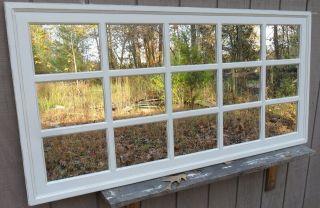 Mantel Window pane rectangular mirror 60 x 30 cottage FREE