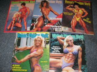WOMENS PHYSIQUE WORLD Magazines Female Bodybuilders muscle girls