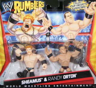 & RANDY ORTON   WWE RUMBLERS MATTEL TOY WRESTLING ACTION FIGURES