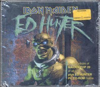 IRON MAIDEN Ed Hunter EURO 1999 Ltd 3CD Box set SEALED