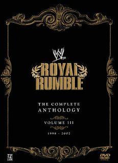WWE   Royal Rumble Anthology Vol. 3 DVD, 2008, 5 Disc Set
