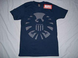 Shirt Marvel Comics SHIELD Avengers Captain America Iron Man Hulk