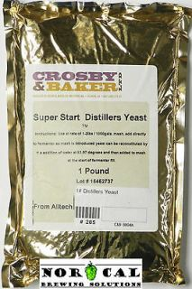 Pound SUPER START DISTILLERS YEAST Distilling Alcohol Moonshine