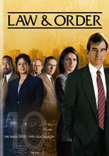 Law Order The Tenth Year DVD, 2012, 5 Disc Set