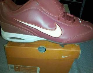 Nike Air Zoom Clipper Red Size 14 metal cleat NIB NIKE JORDAN