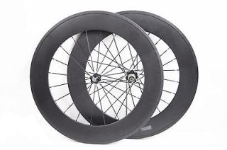 23mm wider/width carbon fiber road racing bicycle/bike wheel set