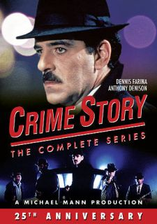 Crime Story The Complete Series DVD, 2011, 9 Disc Set