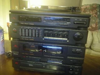 Vintage 1990 Fisher Combo Stereo System. MODEL MC 750
