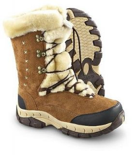 Itasca ANASTASIA 658009 Youth Girls Brown Faux Fur Lined Comfort