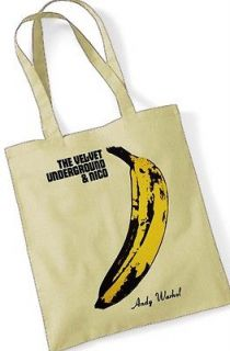 THE VELVET UNDERGROUND Andy Warhol Tote Bag Natural