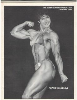 Womens Physique Publication Female Bodybuilding Renee Casella/ Kay
