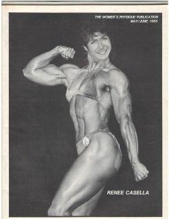 Womens Physique Publication Female Bodybuilding Renee Casella/ Kay
