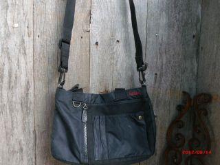 Kipling Black Messenger Bag Purse w Shoulder Strap