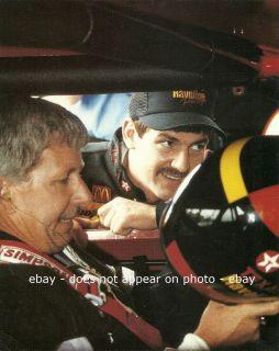 DAVEY ALLISON NEIL BONNETT NASCAR WINSTON CUP ALABAMA GANG TEXACO 8 X