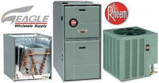 95 % 75k btu gas furnace 2 ton 13 seer a c central air conditioner