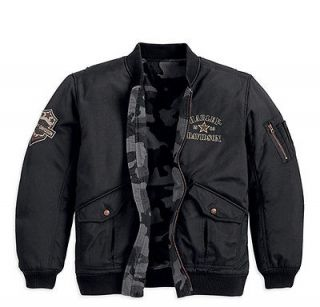 harley davidson military jacket in Coats & Jackets