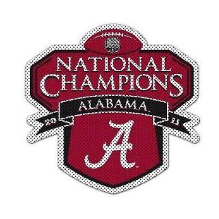 Alabama Crimson Tide National Championship Window Film / Decal