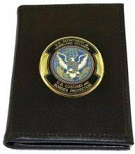 Badge & Credential Case (3.75 x 5) w/Choice of Agency Medallion