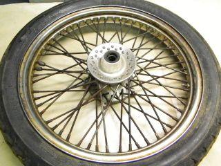 88 Honda VT 600 VT600 VLX Shadow front wheel rim