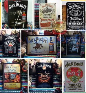 JACK DANIELS WHISKEY Signs metal arts bars home Wall decoration iron