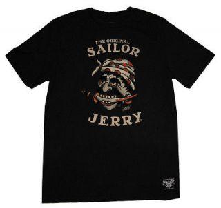 Sailor Jerry Buccaneer Tattoo Artist Soft Adult T Shirt Tee