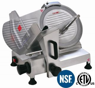 Meat Slicer 12 Blade Commercial Deli Meat Cheese Food Slicer HBS 300