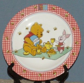 WINNIE THE POOH ARCOPAL FRANCE DISNEY BOWL AND PLATE